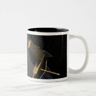 Artist Concept of the Lunar Reconnaissance Orbi 2 Two-Tone Coffee Mug