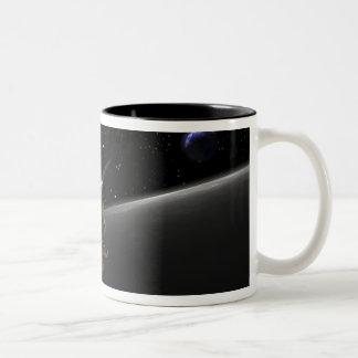 Artist Concept of the Lunar Reconnaissance Orbi 4 Two-Tone Coffee Mug
