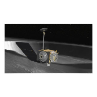 Artist Concept of the Lunar Reconnaissance Orbi Photographic Print