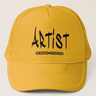 Artist cool profession undefined income hat
