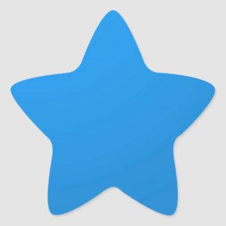 Artist Created Blue Color Shade :Add txt n image Star Sticker