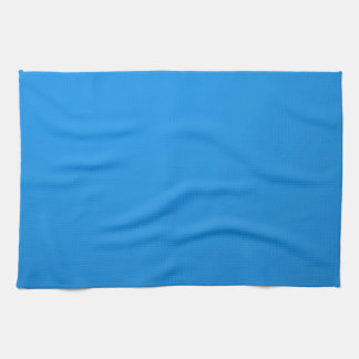Artist Created Blue Color Shade :Add txt n image Tea Towel