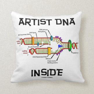 Artist DNA Inside Genes Genetics DNA Replication Cushion