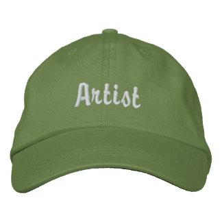 Artist Embroidered Baseball Caps