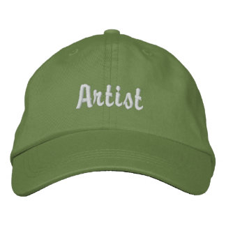 Artist Embroidered Hat