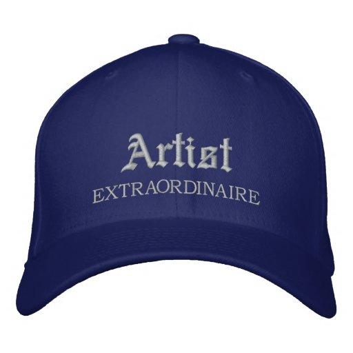 Artist Extraordinaire Embroidered Hat