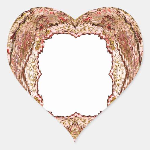 Artist for BORDERS - Greetings n Wedding Invites Heart Stickers