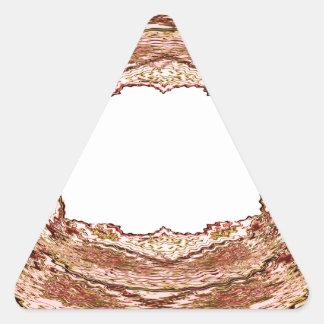 Artist for BORDERS - Greetings n Wedding Invites Triangle Sticker