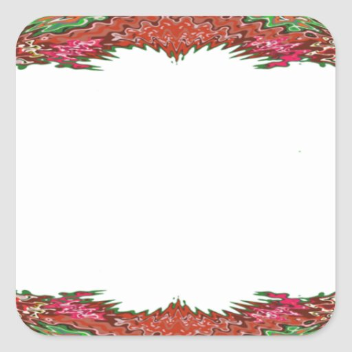 Artist for BORDERS - Wedding Event Planner Gifts Square Stickers