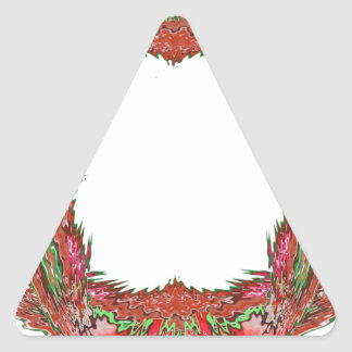 Artist for BORDERS - Wedding Event Planner Gifts Triangle Sticker