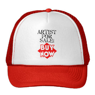 Artist For Sale! BUY NOW! Mesh Hat
