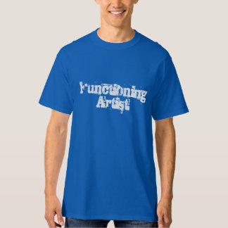 Artist Functioning Tee Shirts