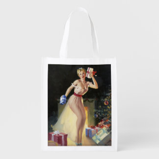 Artist Gil Elvgren Reusable Grocery Bag
