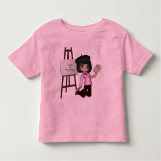 Artist Girl Easel Shirt