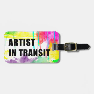 Artist In Transit - Perfect Creative Travel Tag