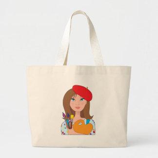 Artist Large Tote Bag