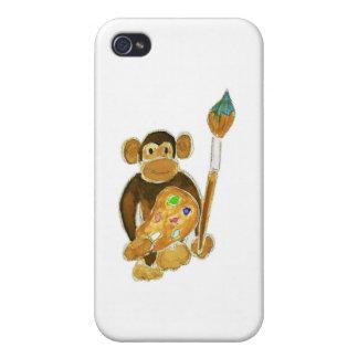 Artist Monkey iPhone 4/4S Case