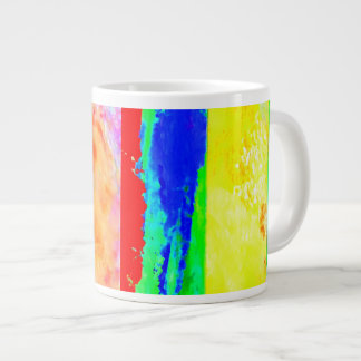 Artist Mug Cup of Many Colors Jumbo Mug