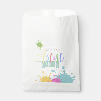 Artist | Paining Party Favour Bags