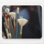 Artist Paint Brushes Photo Mouse Mat