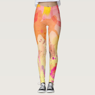 Artist Paint Splatters Leggings