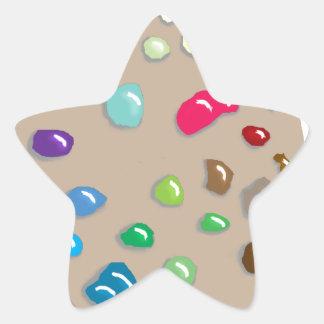 Artist Palette Art Artists Craft Paint Painter Fun Star Sticker