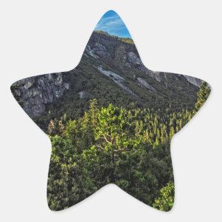 Artist Point Panorama Star Sticker