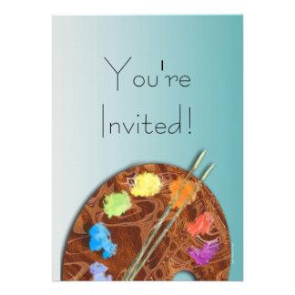 Artist s Palette Event Invitation
