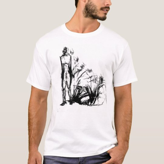 Artist Series (exploded figure drawing) T-Shirt
