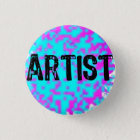 Artist- Small Spatters 3 Cm Round Badge