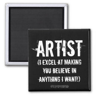 Artist Square Magnet