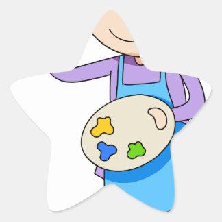 Artist Star Sticker