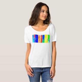 Artist T-shirt Painters tee colorful summer t