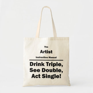 artist tote bags