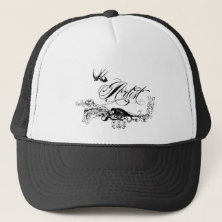 Artist Vintage Design Trucker Hat
