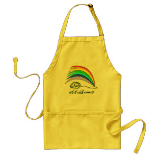Artist with Mouse Adult Apron