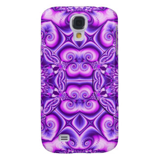 Artistic abstract design with spiral hearts galaxy s4 case