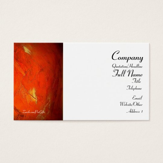 Artistic Adobe Business Cards
