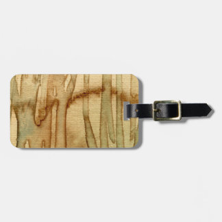 Artistic background watercolor 2 luggage tag