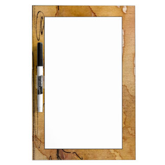 Artistic background watercolor dry erase board