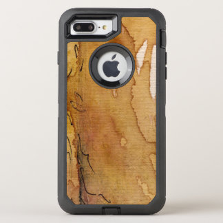 Artistic background watercolor OtterBox defender iPhone 8 plus/7 plus case