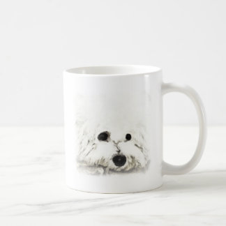 Artistic Bichon head aquarelle Coffee Mug