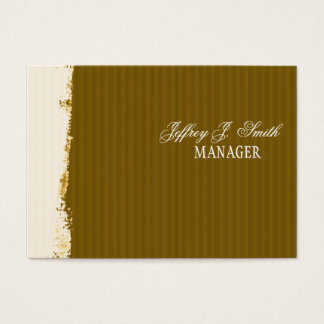 Artistic Brushstrokes Rust Earth-Colors Business Card