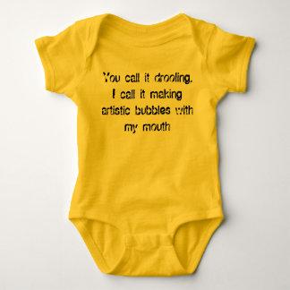 Artistic Bubbles Baby Bodysuit