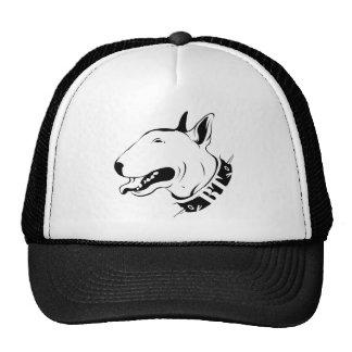 Artistic Bull Terrier Dog Breed Design Cap
