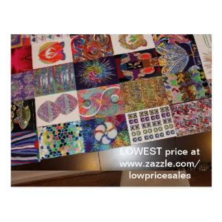 Artistic BUSINESS Giveaway Editable Replace Text Post Card