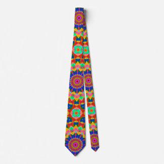 Artistic Carnival Colors Tie
