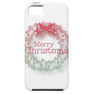 Artistic Christmas wreath iPhone 5 Covers