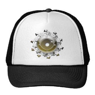 Artistic Clock Mesh Hats