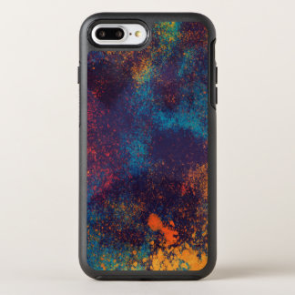 Artistic Colorful Grunge Spots | Phone Case